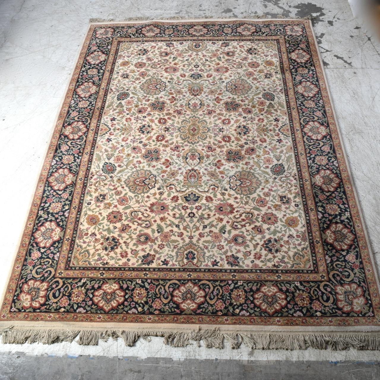 Machine Made Karastan Indo-Kirman Wool Area Rug
