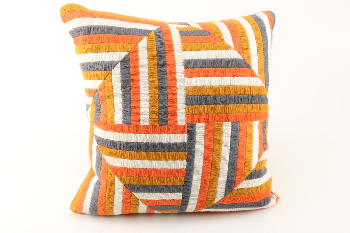 Jonathan Adler Orange White And Black Throw Pillows Ebth