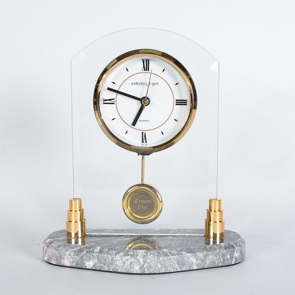 Vintage Hamilton Table Clock
