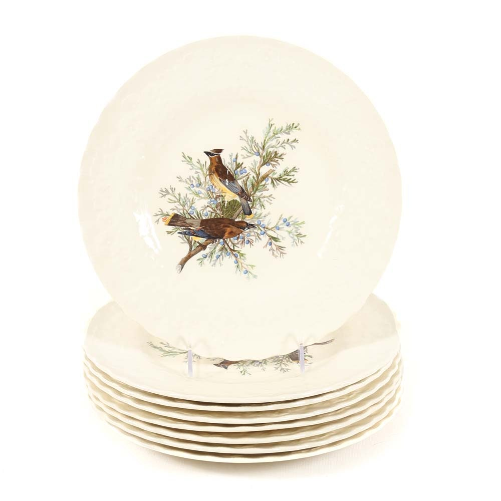 Alfred Meakin  Birds of America Cedar Bird  Dinner Plates ...  sc 1 st  EBTH.com & Alfred Meakin