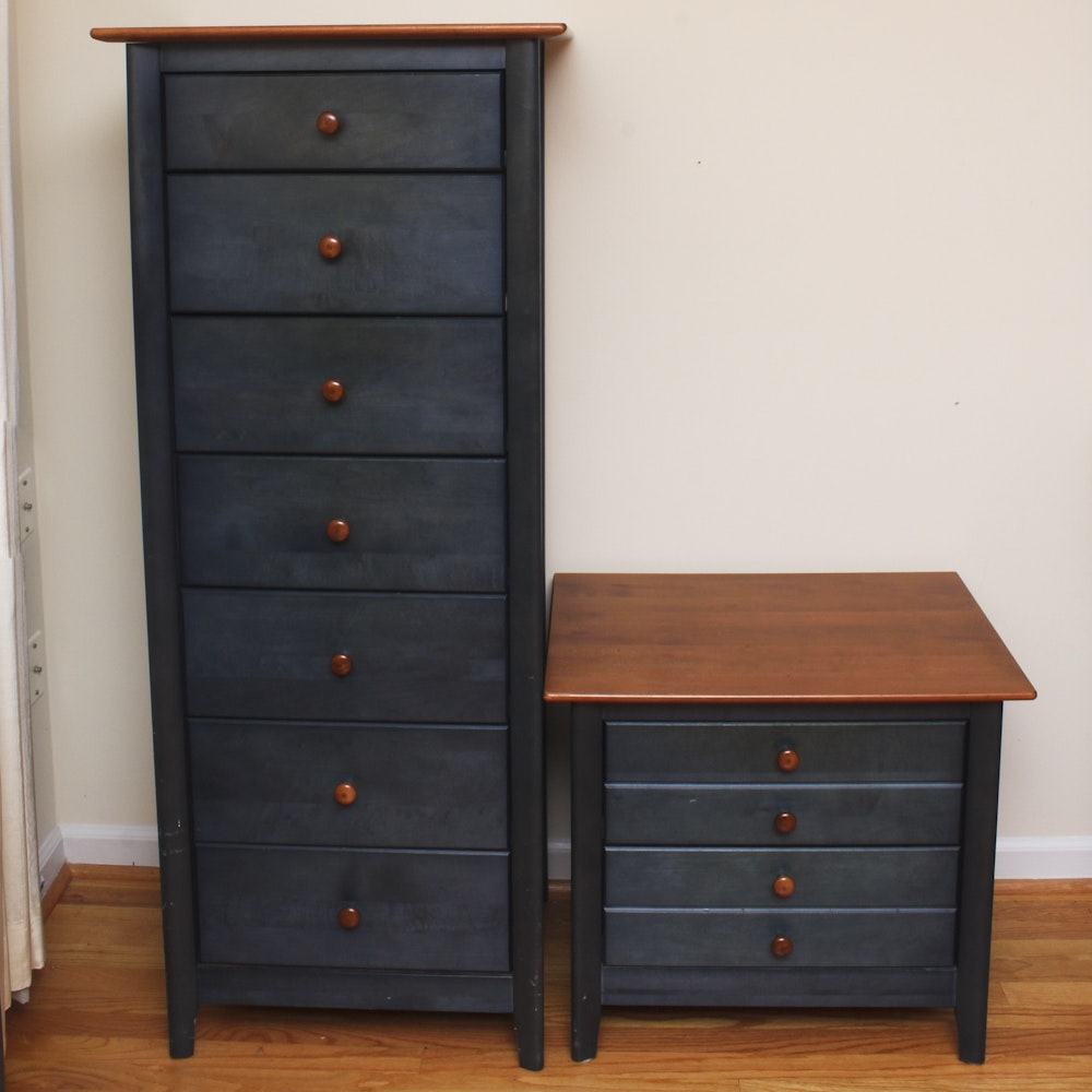 Chest of Drawers and Nightstand
