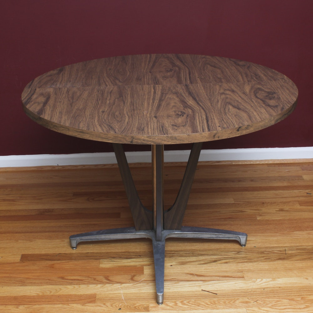 Modernist Pedestal Table