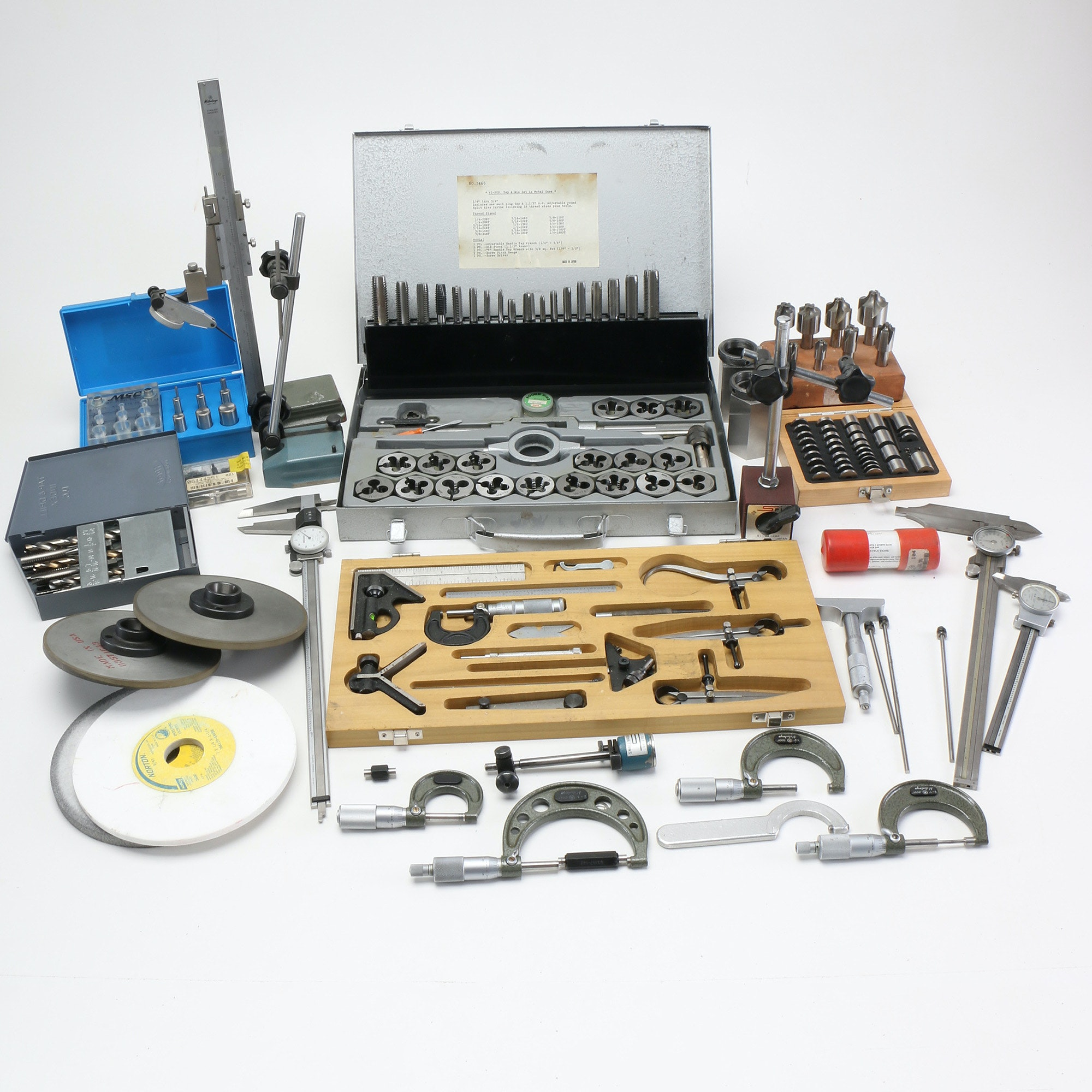 Assortment of Precision Wood Working Tools
