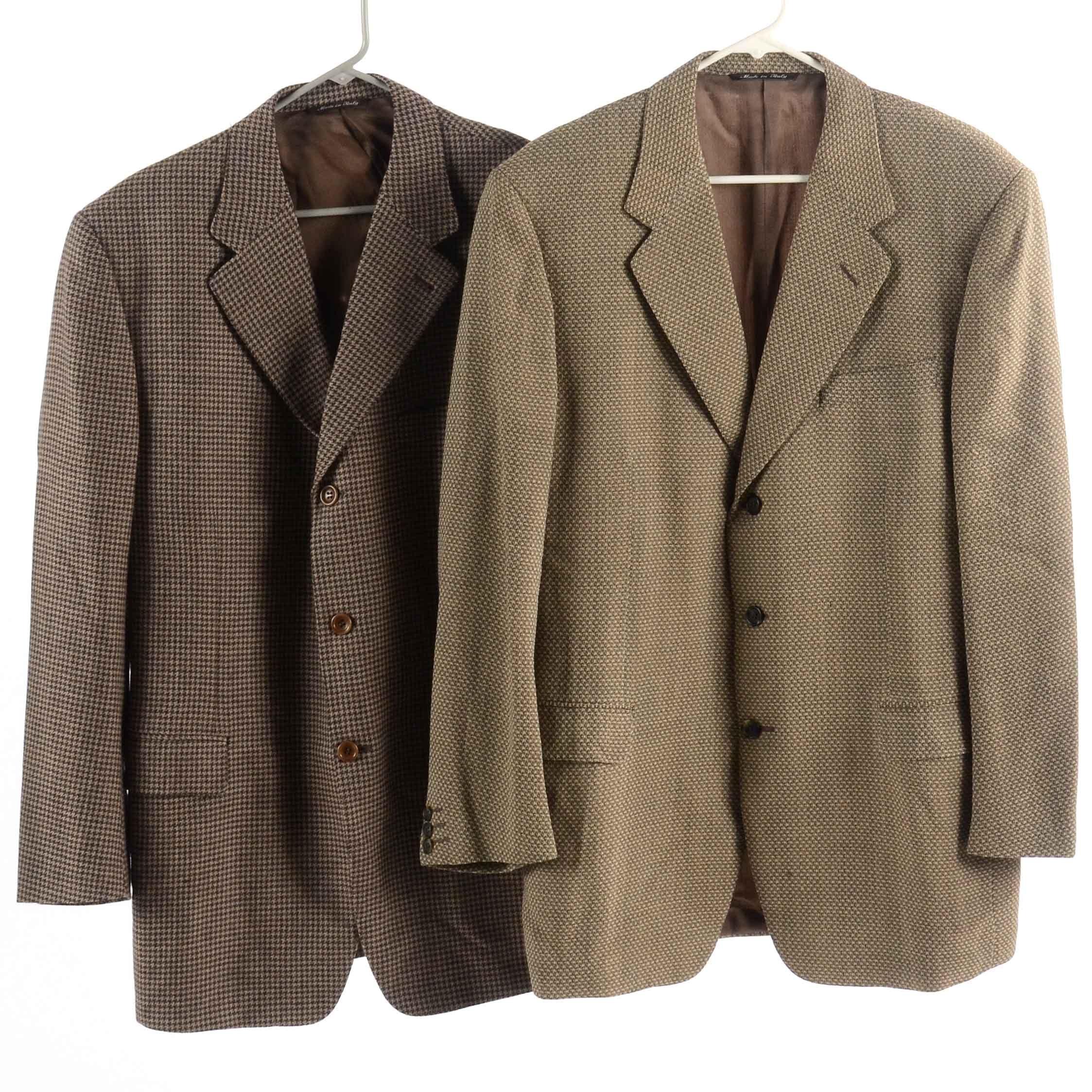 Men's Designer Sport Coats : EBTH