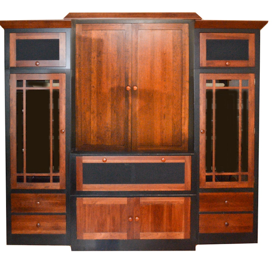Oak Entertainment Armoire Amp He85 Roccommunity
