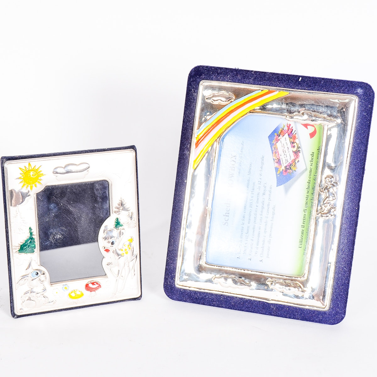 Set of Silver Picture Frames