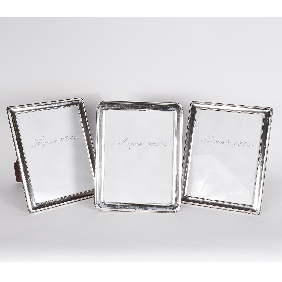 Collection of Silver Picture Frames