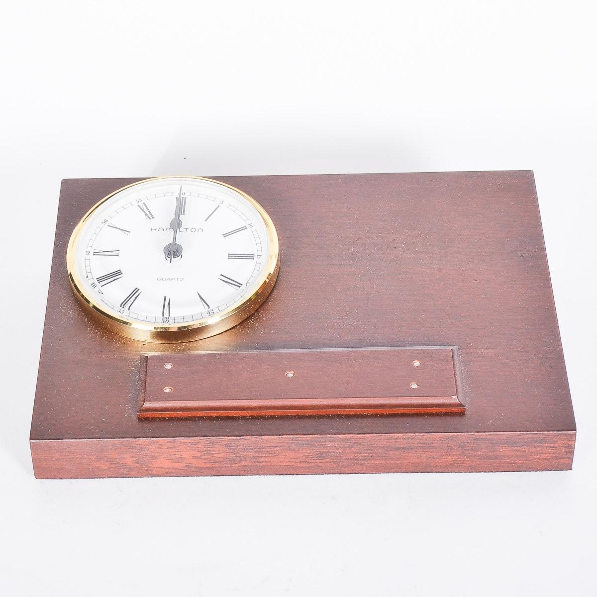 Hamilton Desk Clock