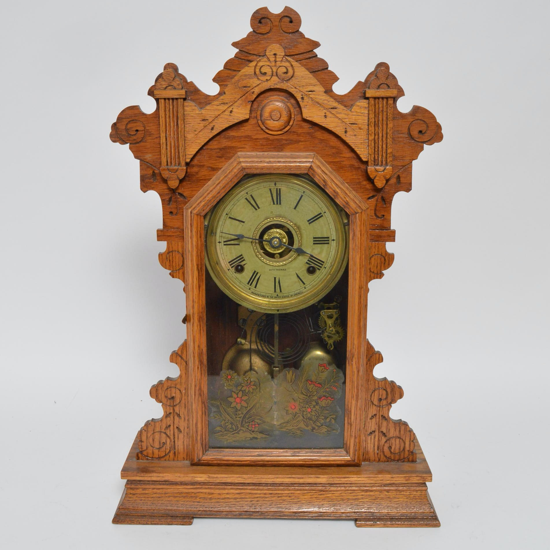 Seth Thomas Eastlake Pendulum Mantel Clock