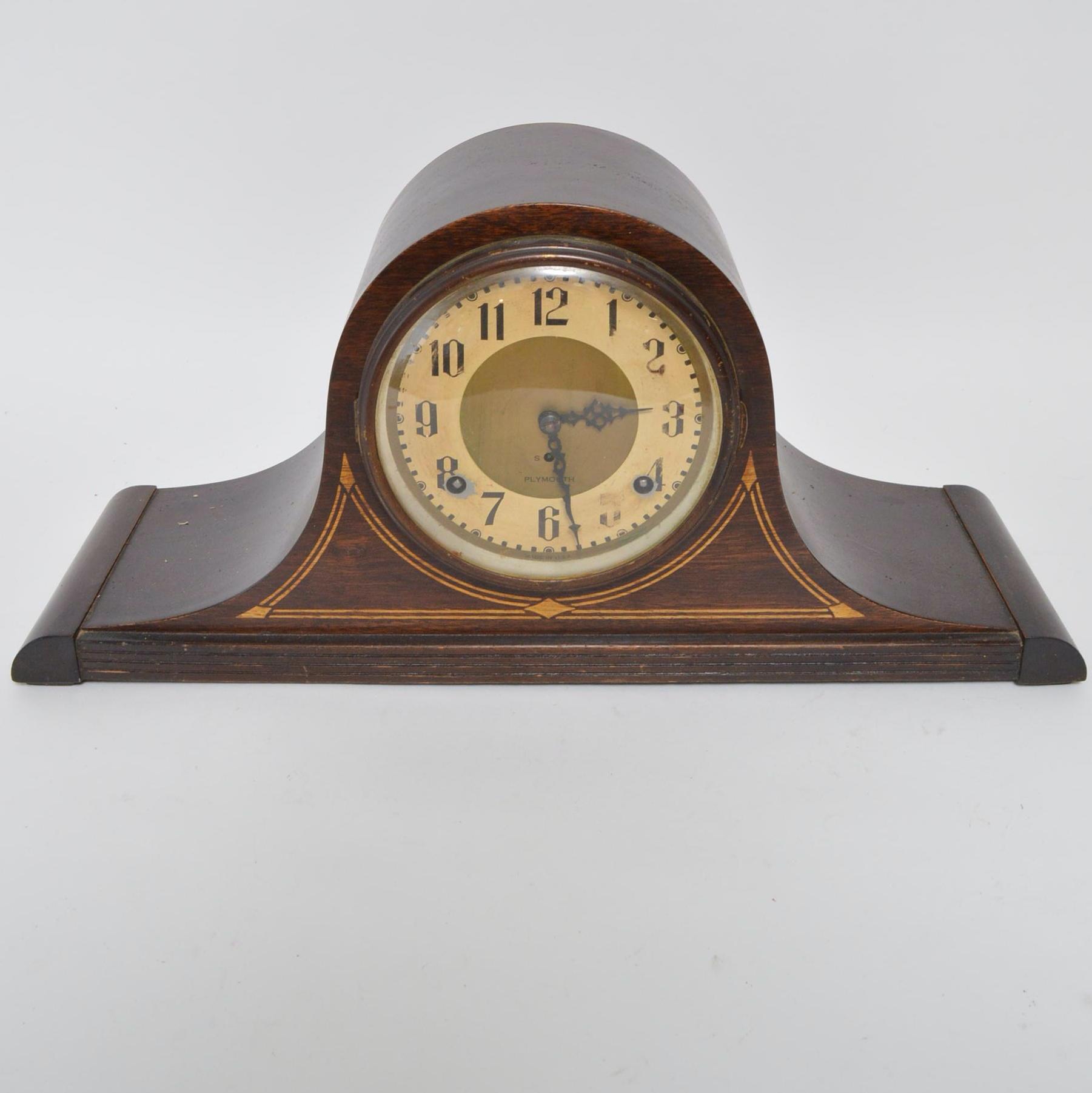 Plymouth Tambour Mantel Clock