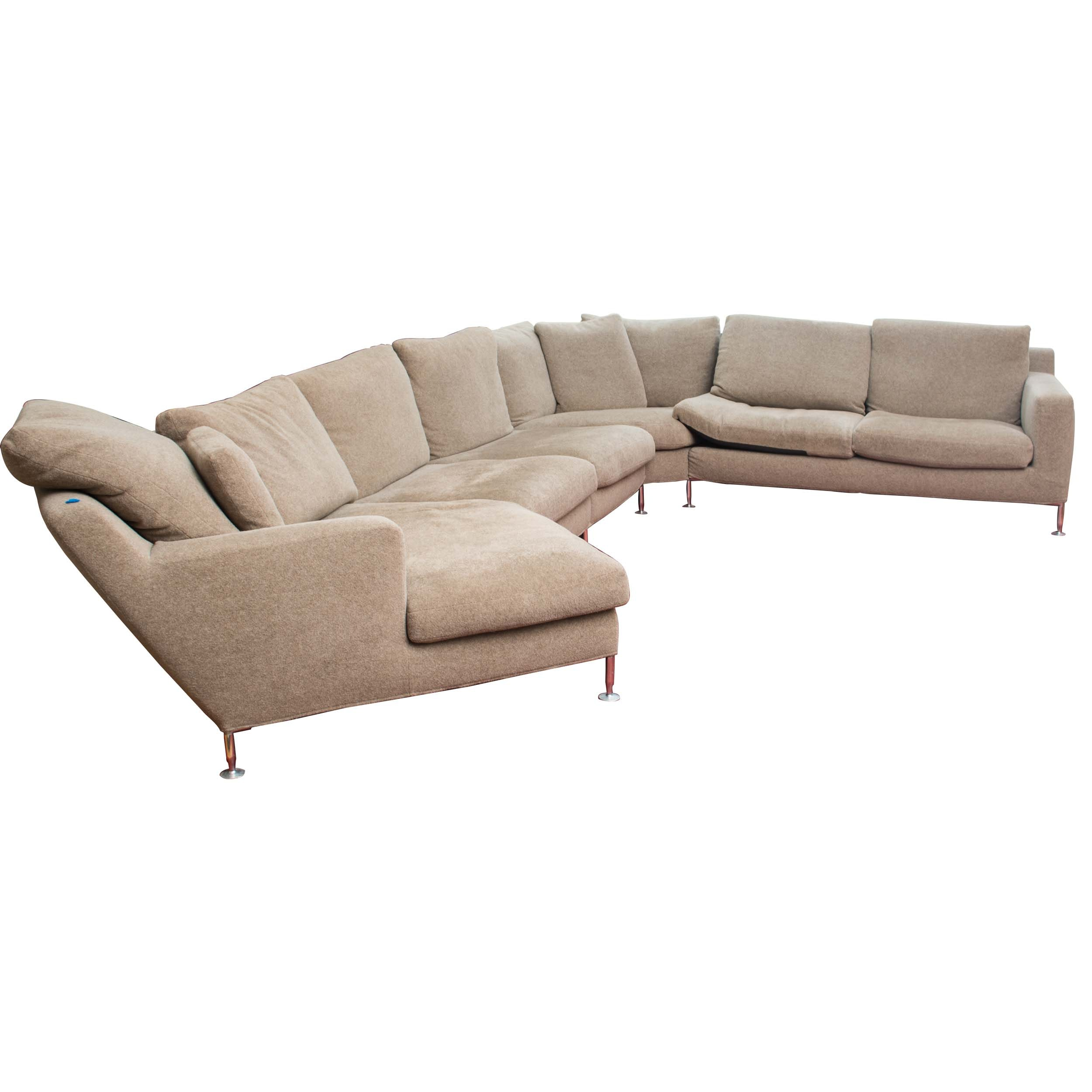 Quot Harry Quot Large Sectional Sofa By Antonio Citterio For B Amp B