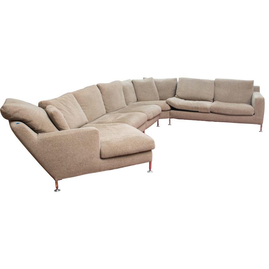 Harry Large Sectional Sofa By Antonio Citterio For B B Italia Ebth