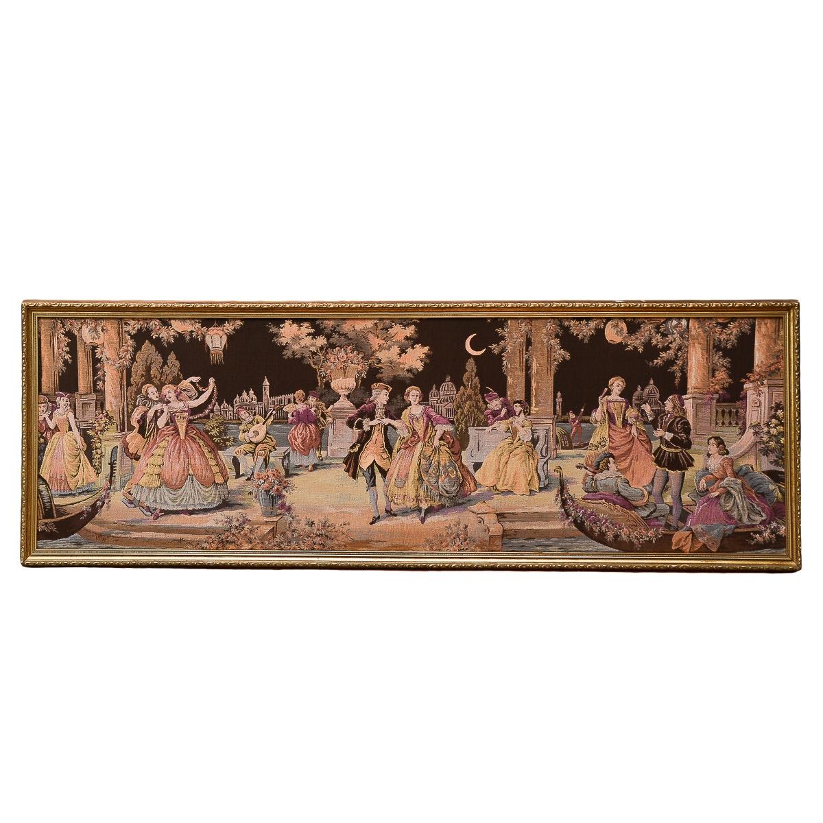 Framed Vintage Tapestry