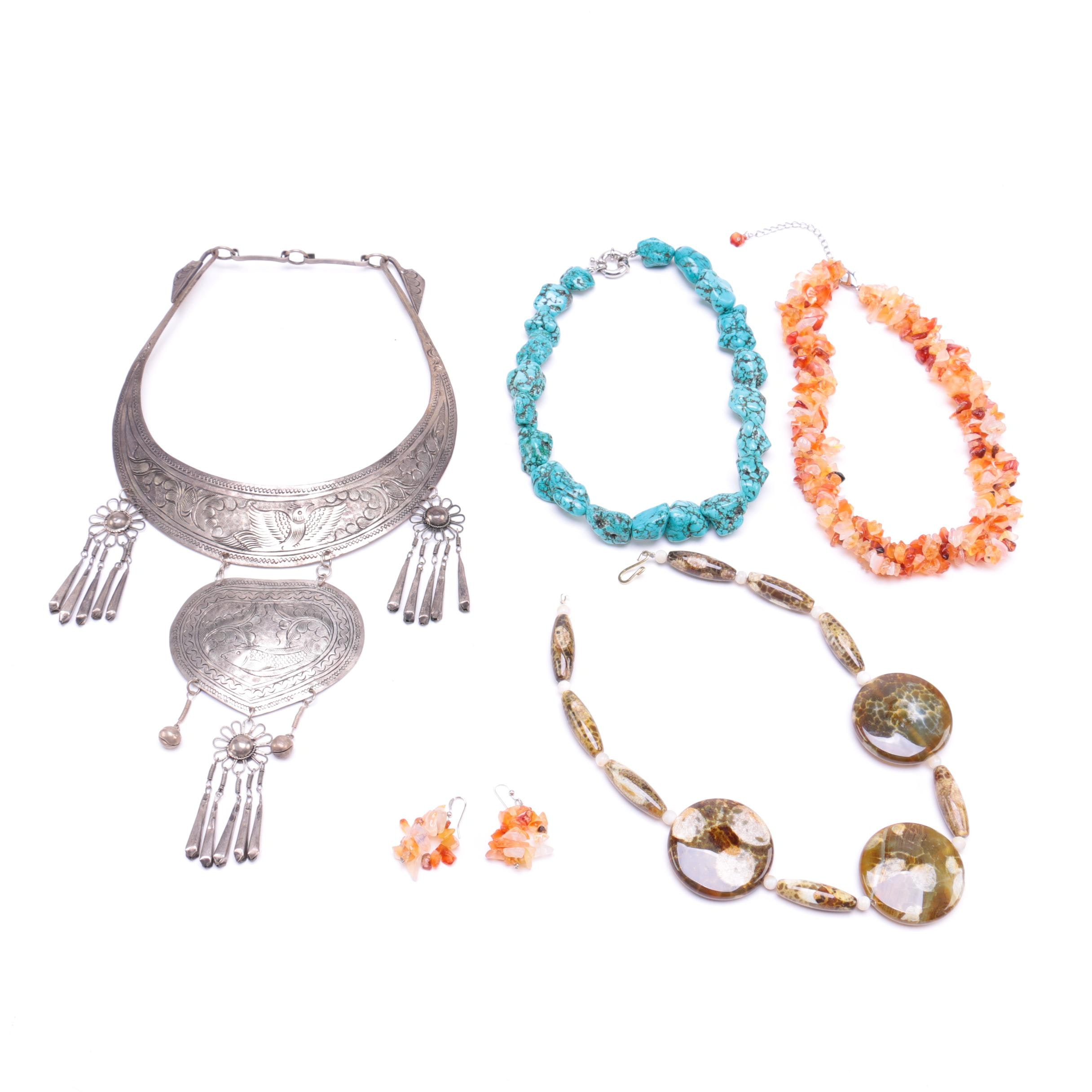 Assorted Gemstone Jewelry