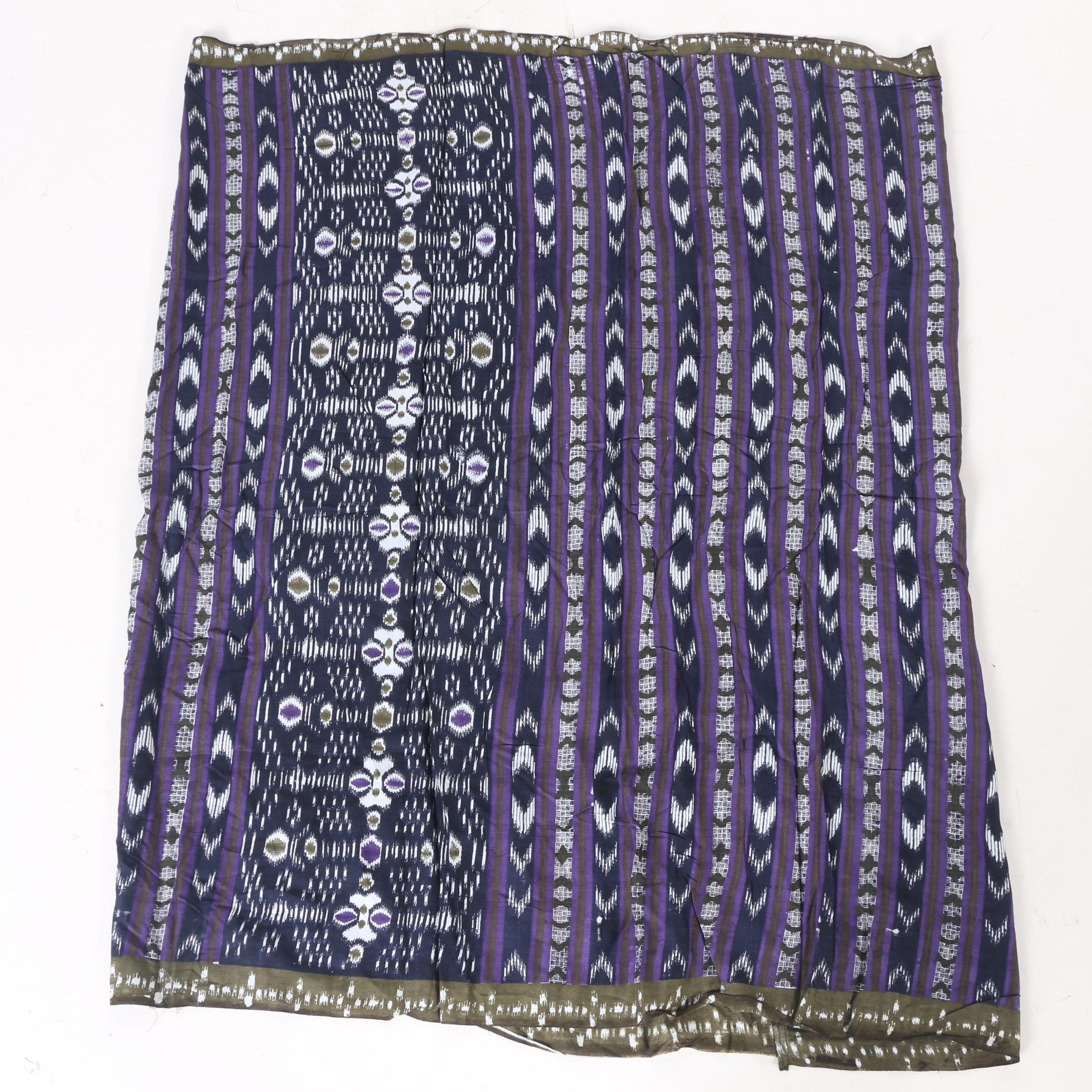 Batik Fabric Panel