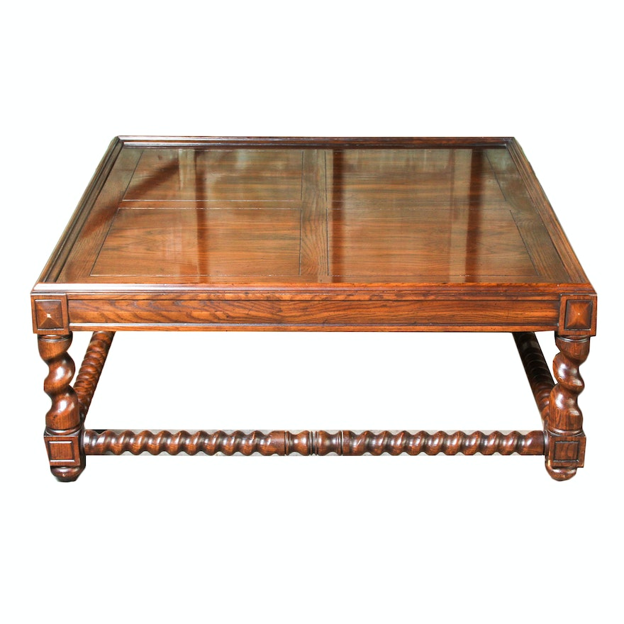 Oak Barley Twist Coffee Table