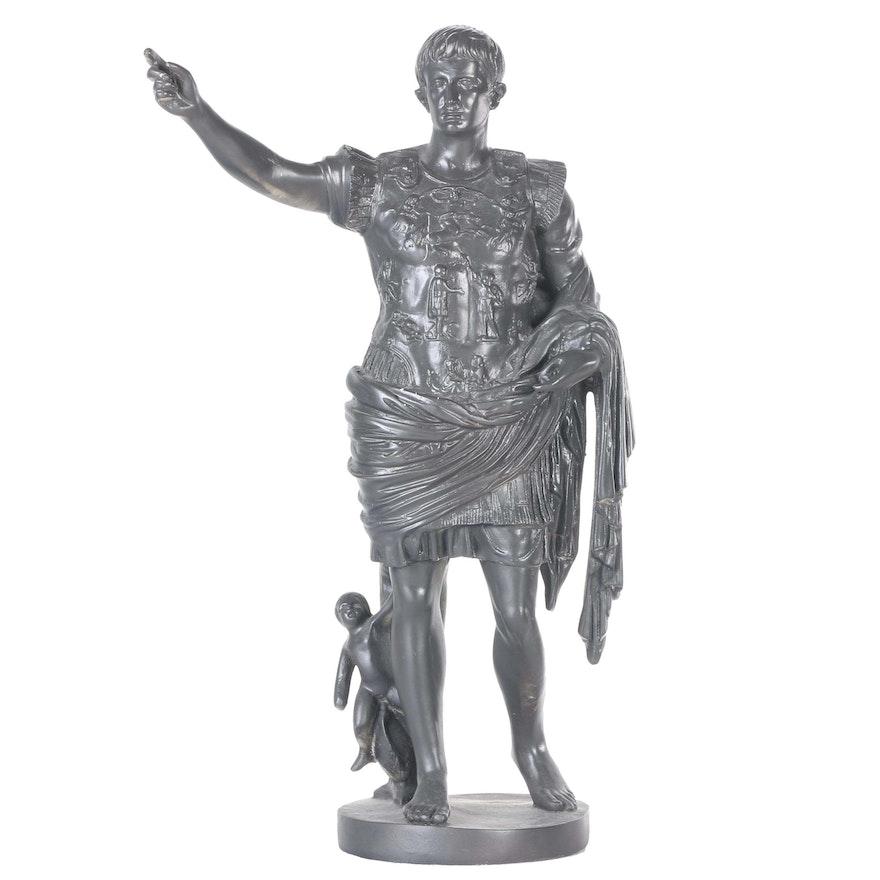 "Plaster Reproduction Figure After ""Augustus of Prima Porta ..."