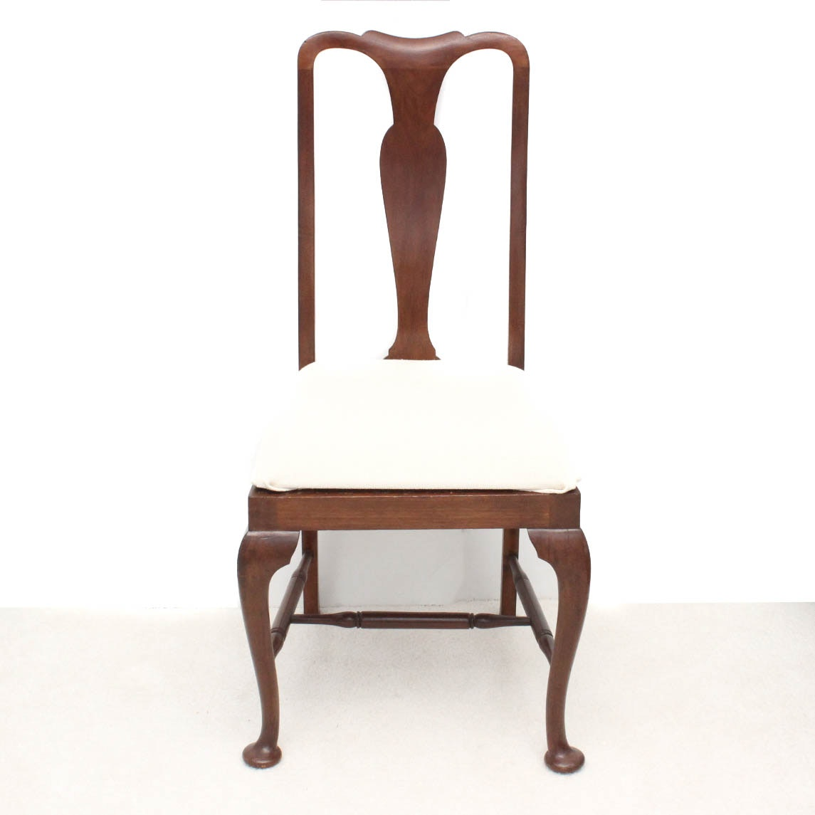 Queen Anne Style Fiddle Back Side Chair ...