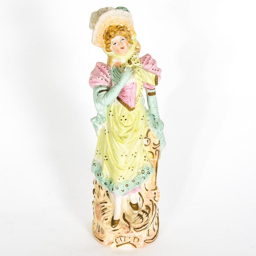 Vintage Japanese Porcelain Figurine : EBTH