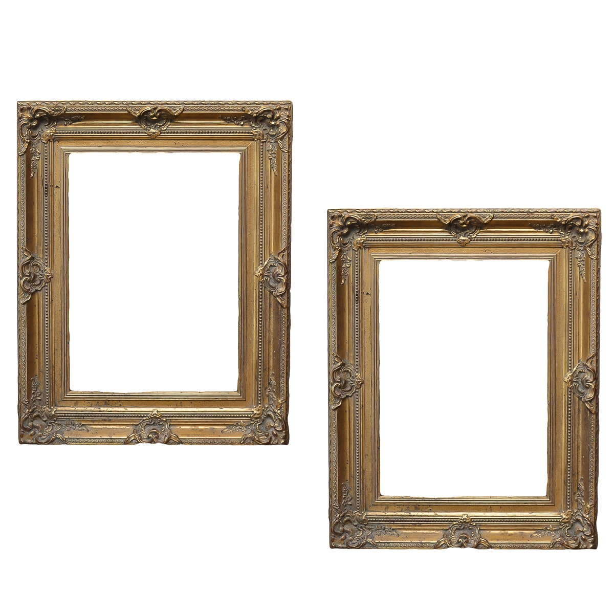 Pair of Vintage Wooden Frames