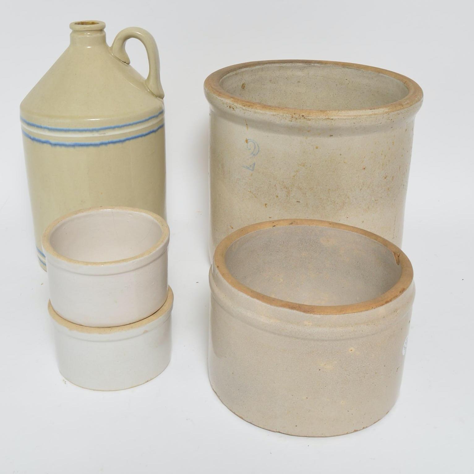 Vintage Stoneware Crockery