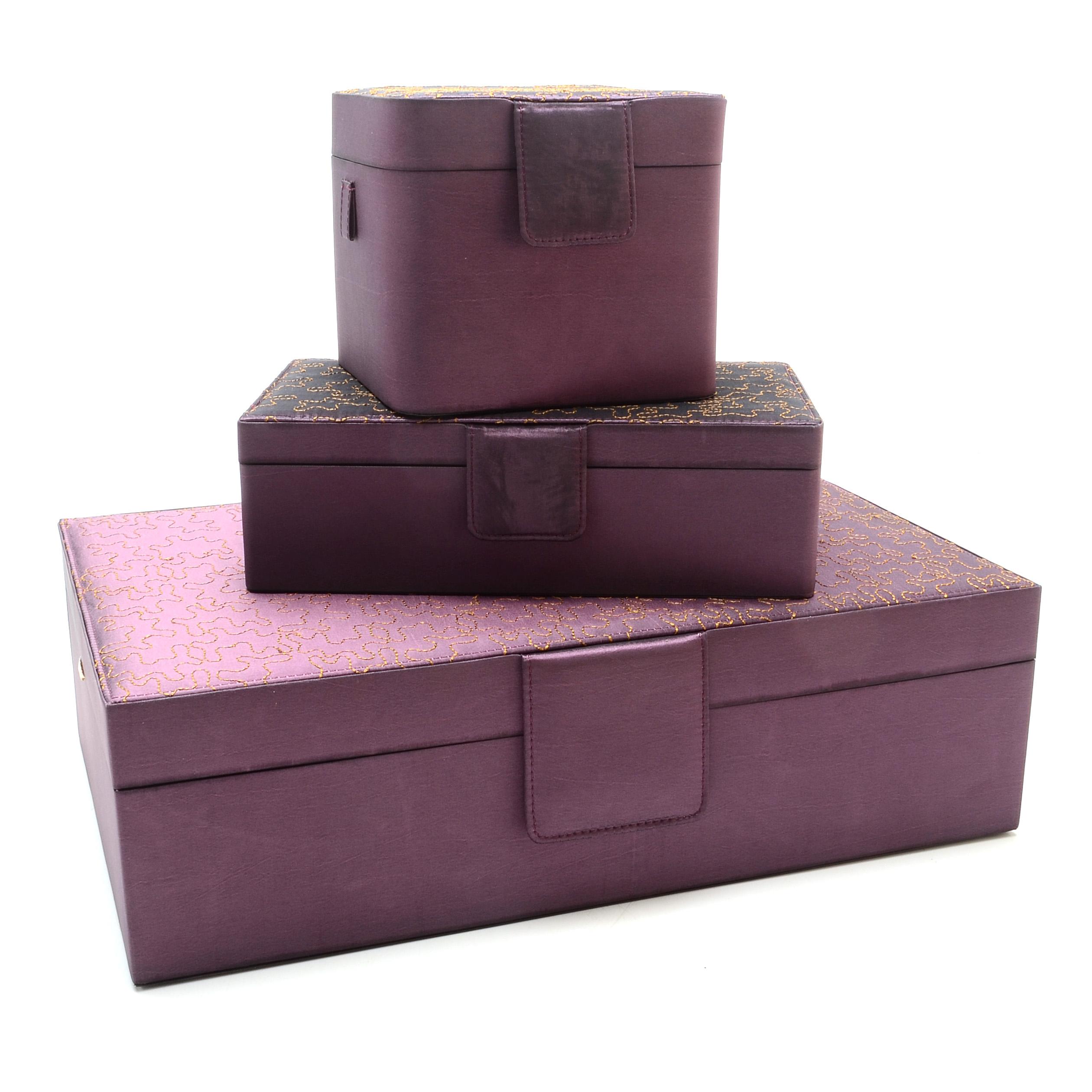 Three Rowallan Jewelry Boxes EBTH