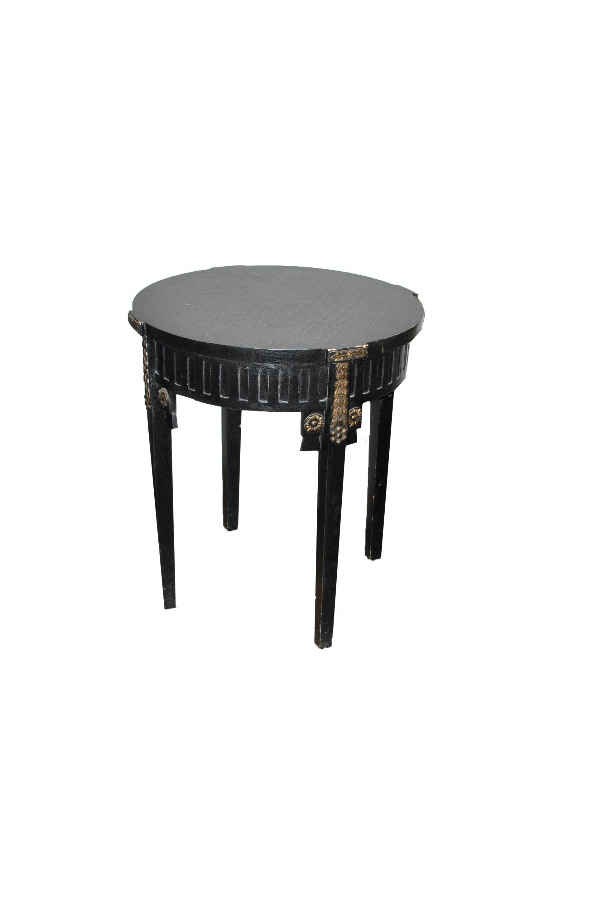 Neoclassical Inspired Side Table