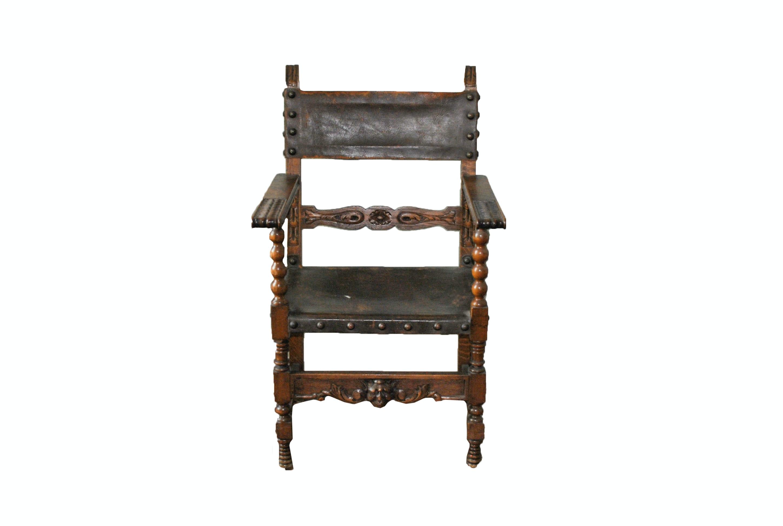 Spanish Colonial Revival Armchair