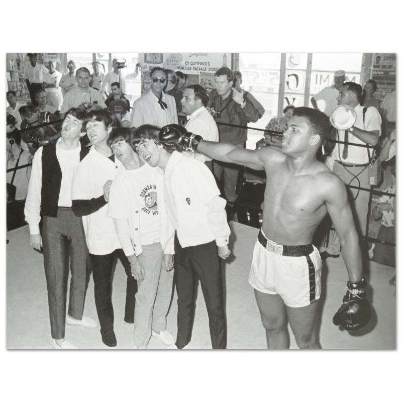 Muhammad Ali and the Beatles Photograph