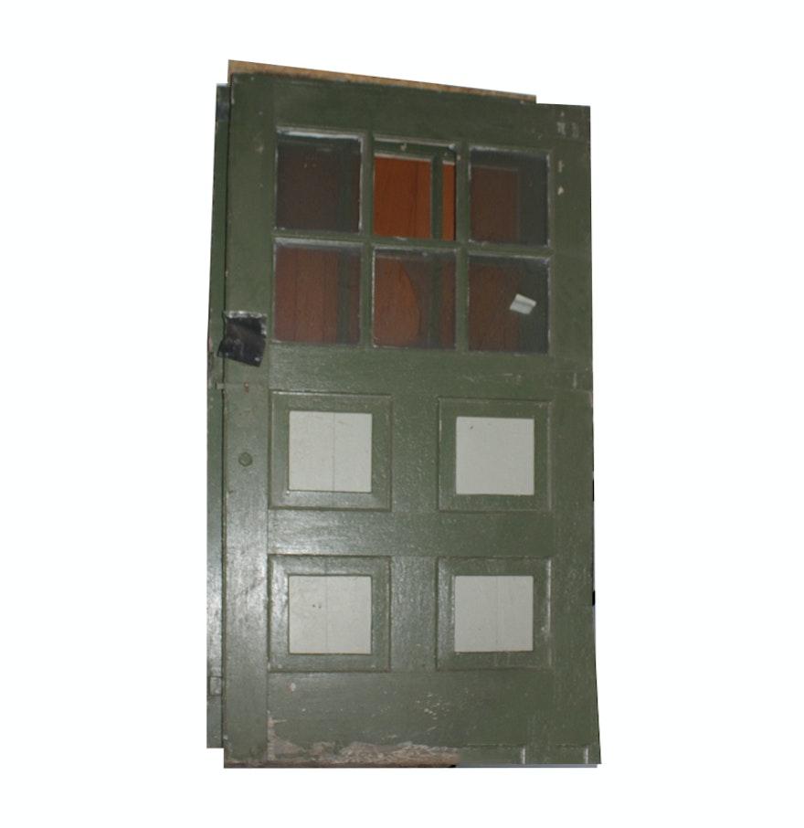 Pair of Large Antique Garage Doors ... - Pair Of Large Antique Garage Doors : EBTH