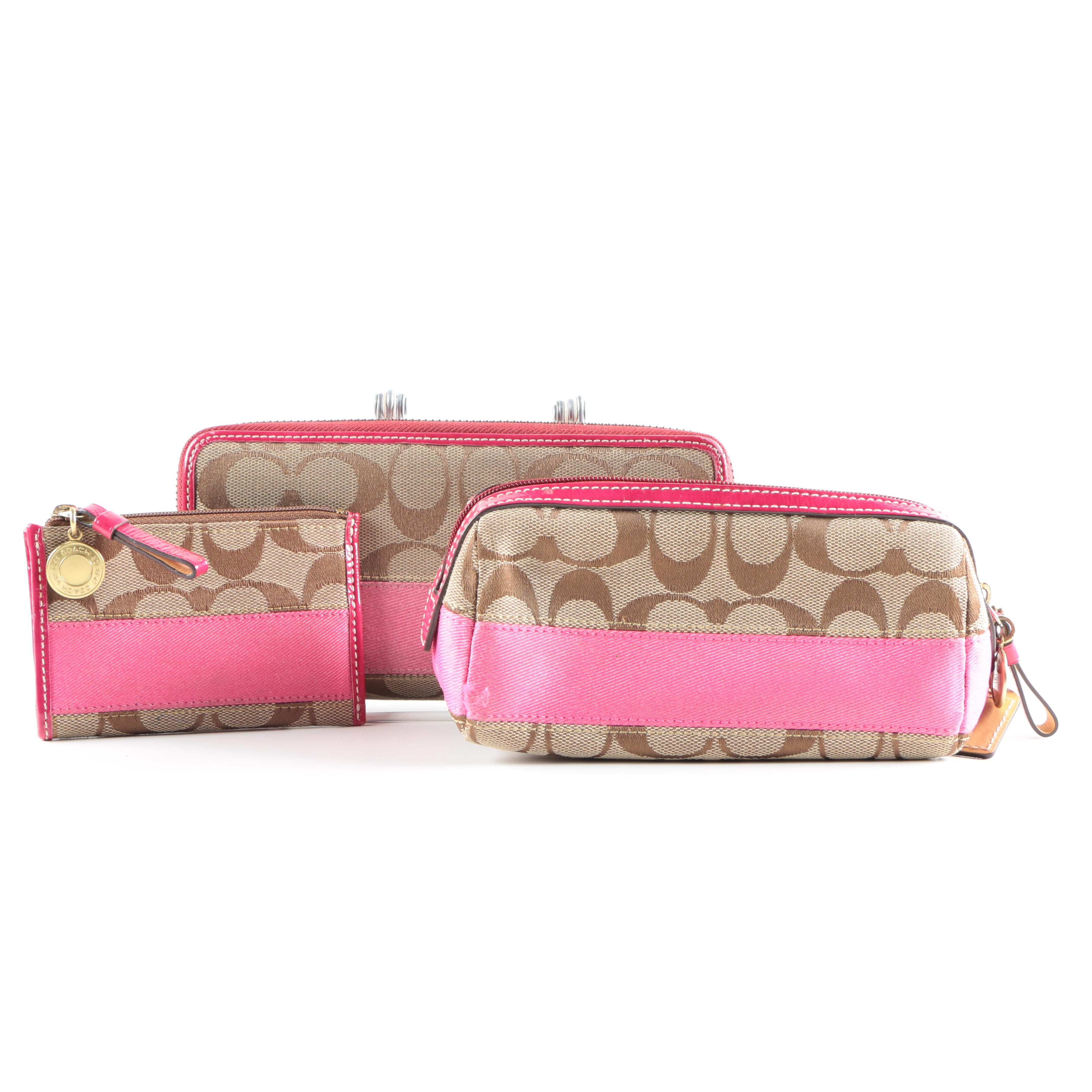 Coach Wallets and Cosmetic bag