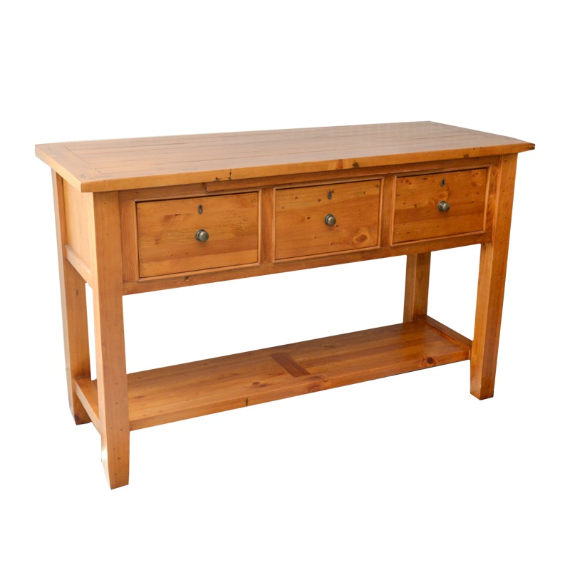Art & Crafts Style Console Table