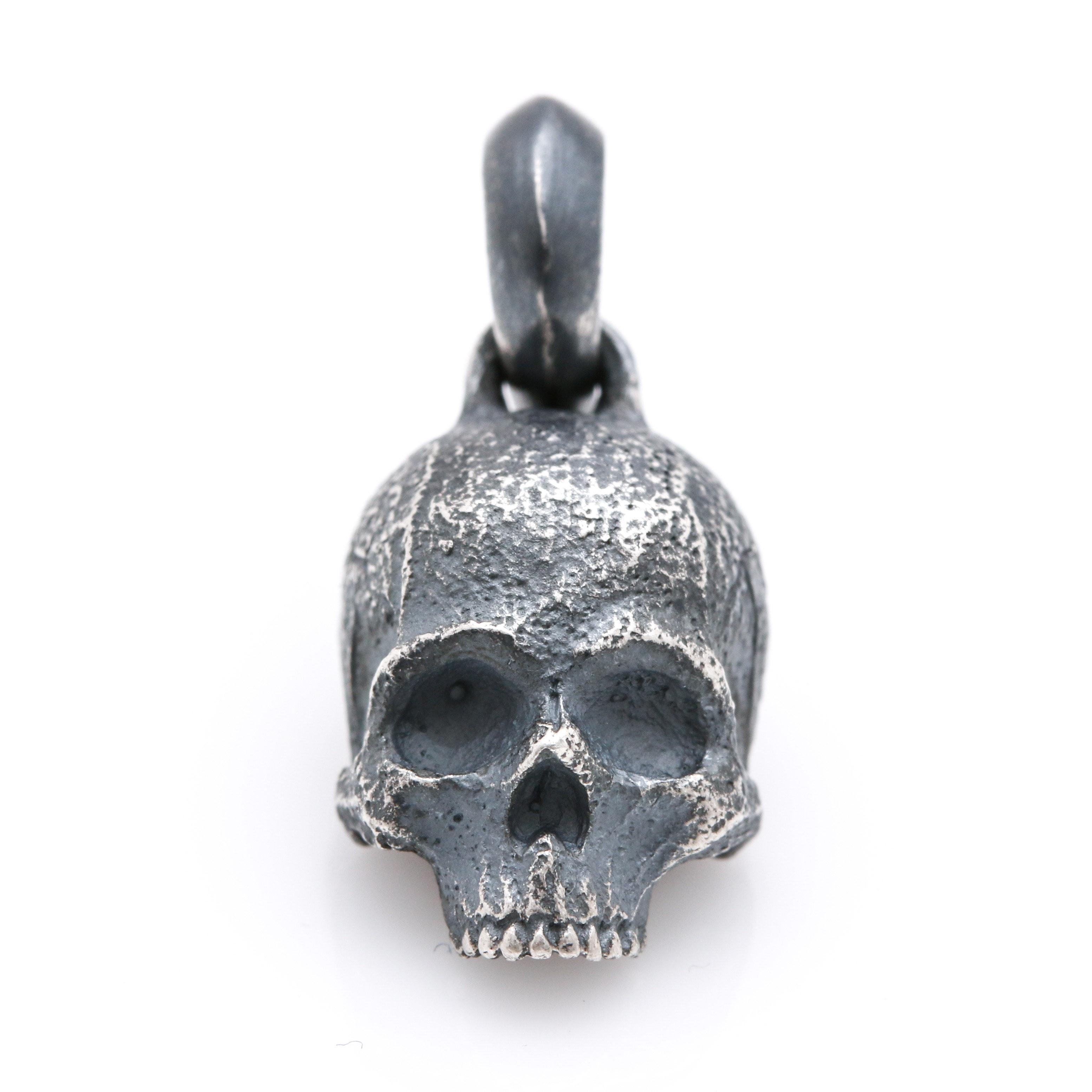 David Yurman Sterling Silver Skull Charm
