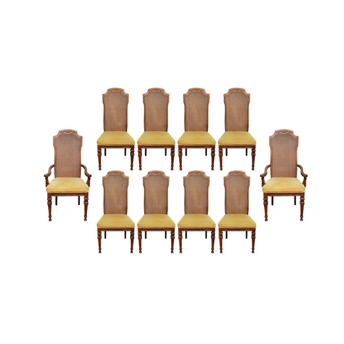 Vintage Burlington House Furniture Dining Chairs ...