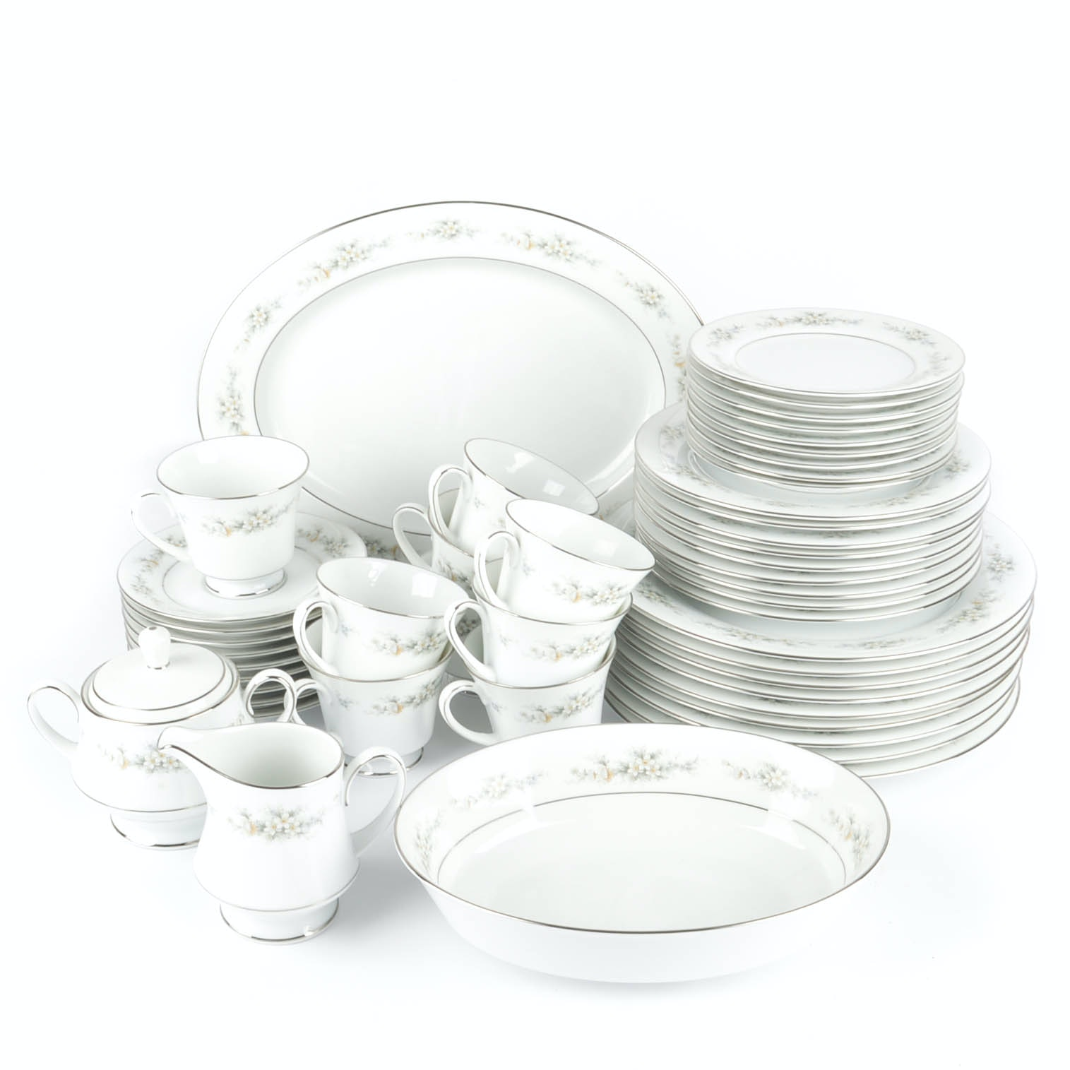 "Noritake ""Melissa"" Fine China Tableware"