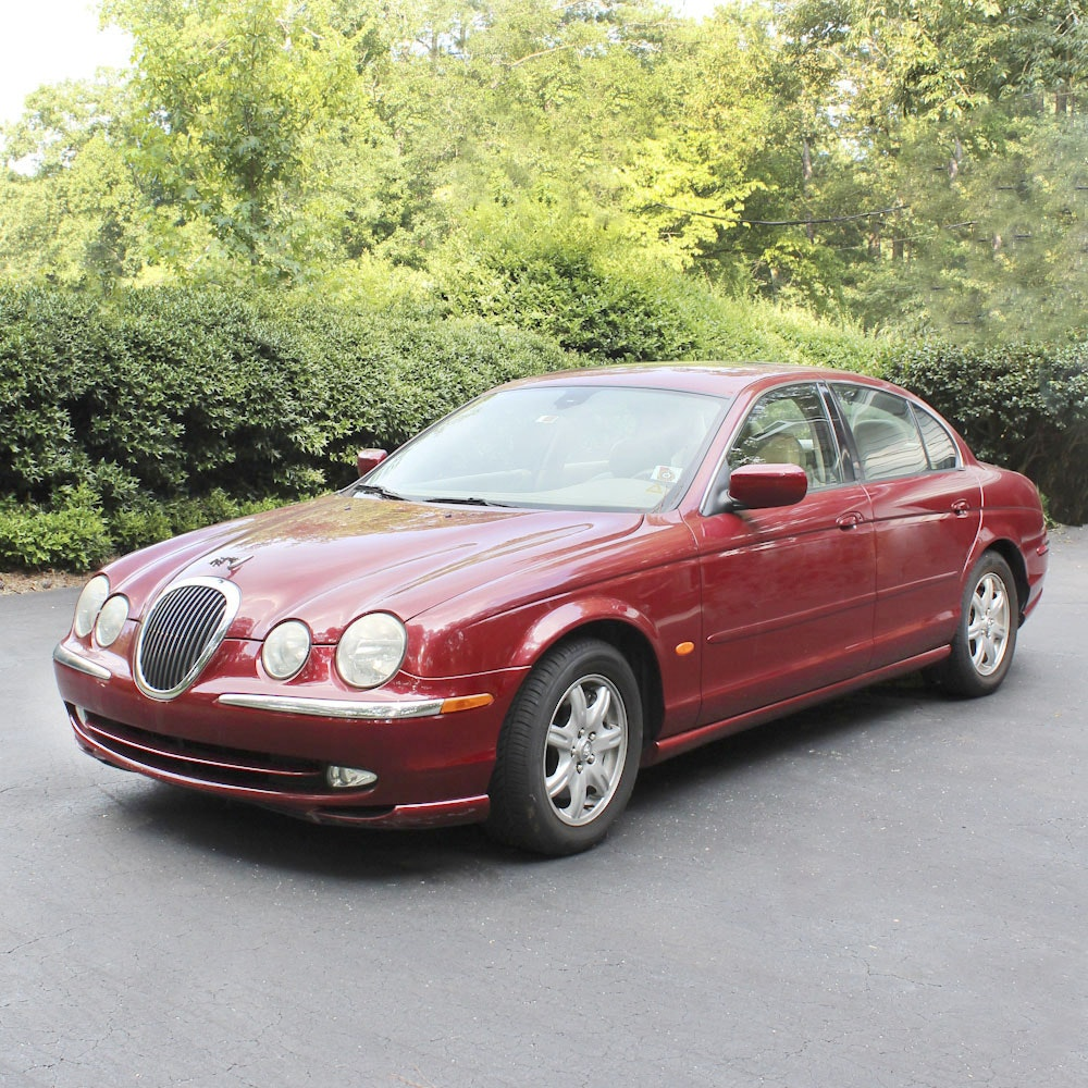 2000 Jaguar S Type Sedan