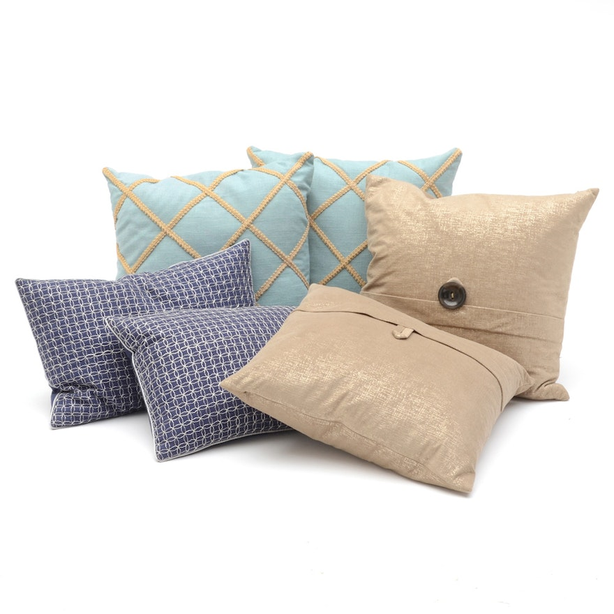 Decorative Accent Pillows Including Calvin Klein EBTH New Calvin Klein Decorative Pillows