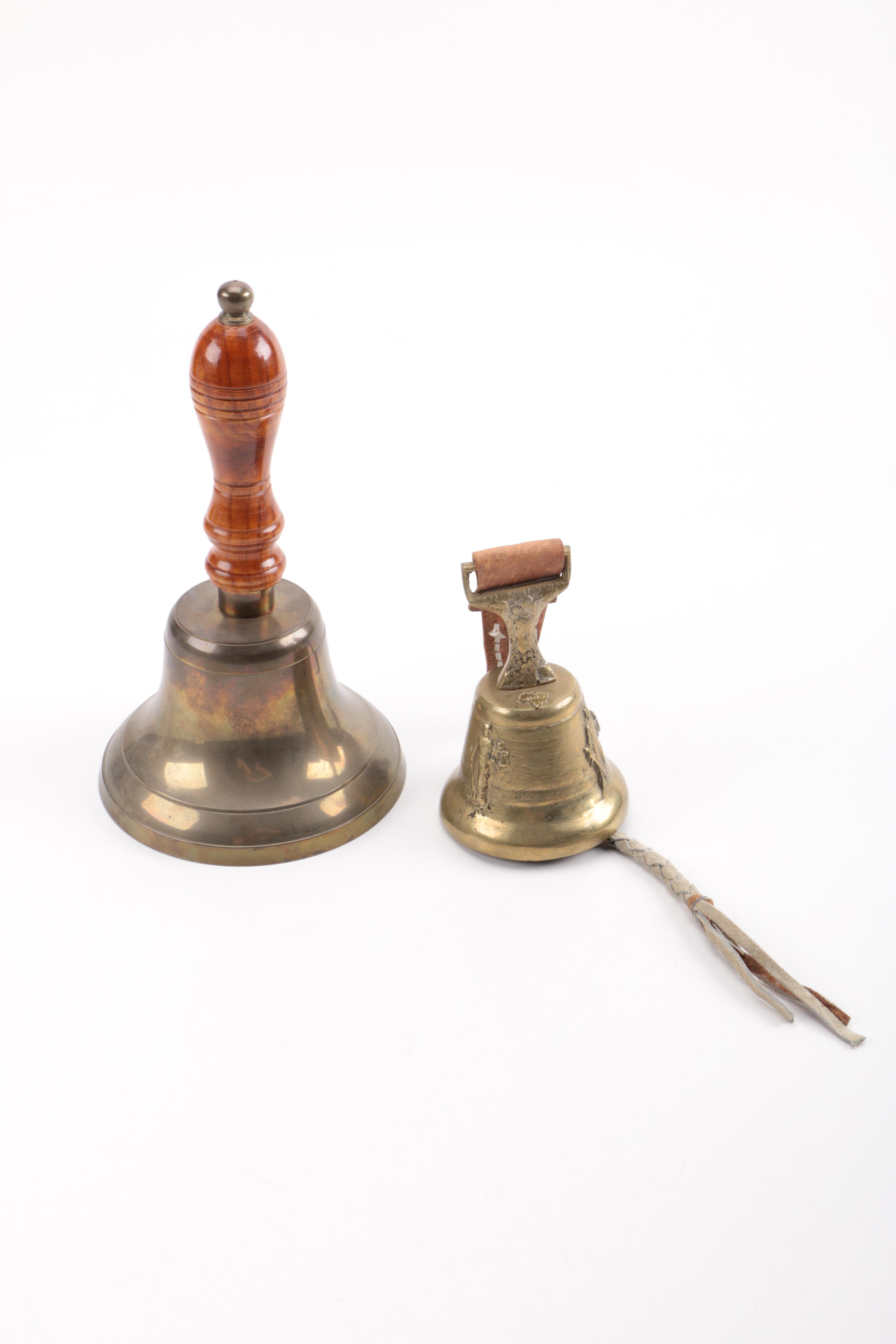 Pair of Metal Liberty Bells