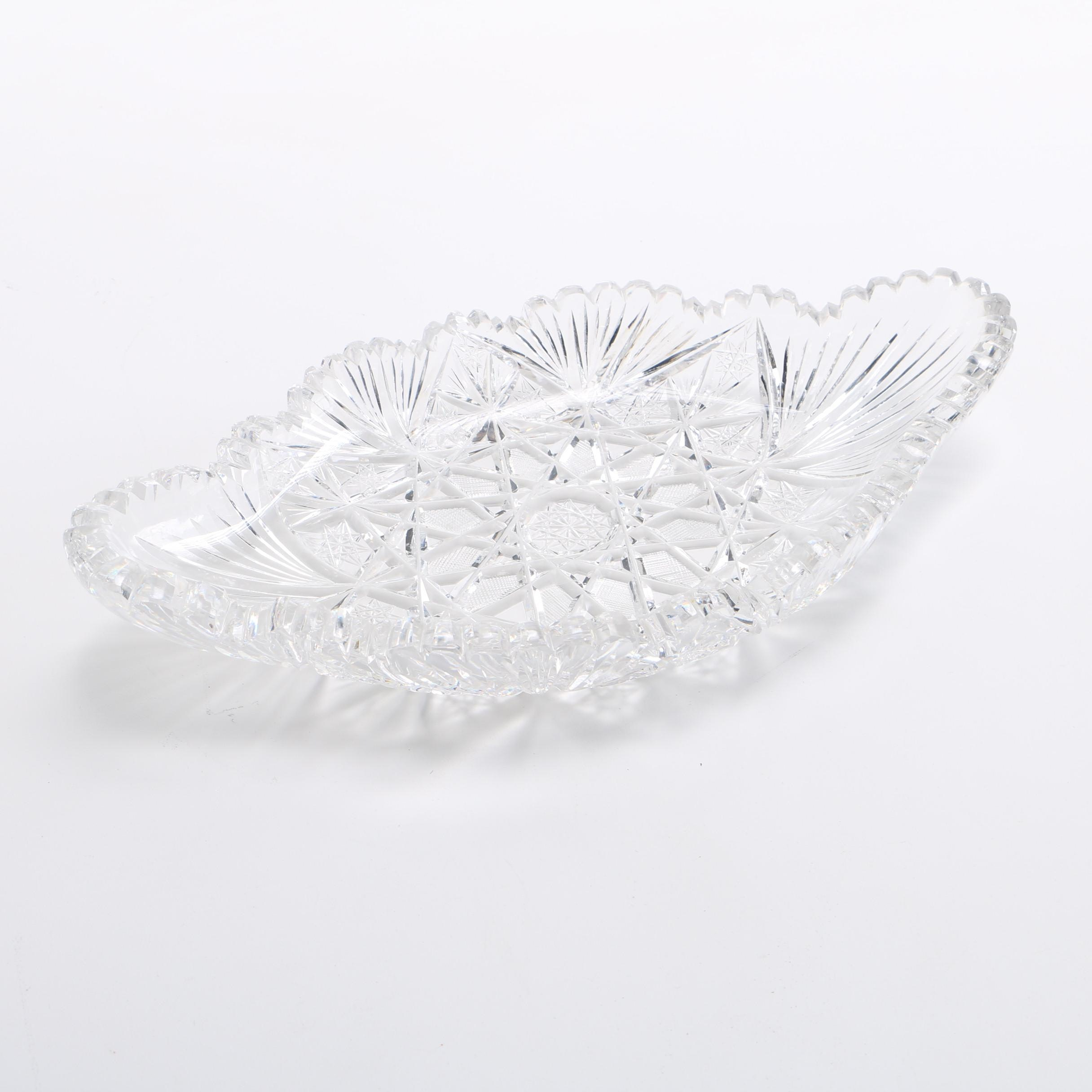 Cut Crystal Dish