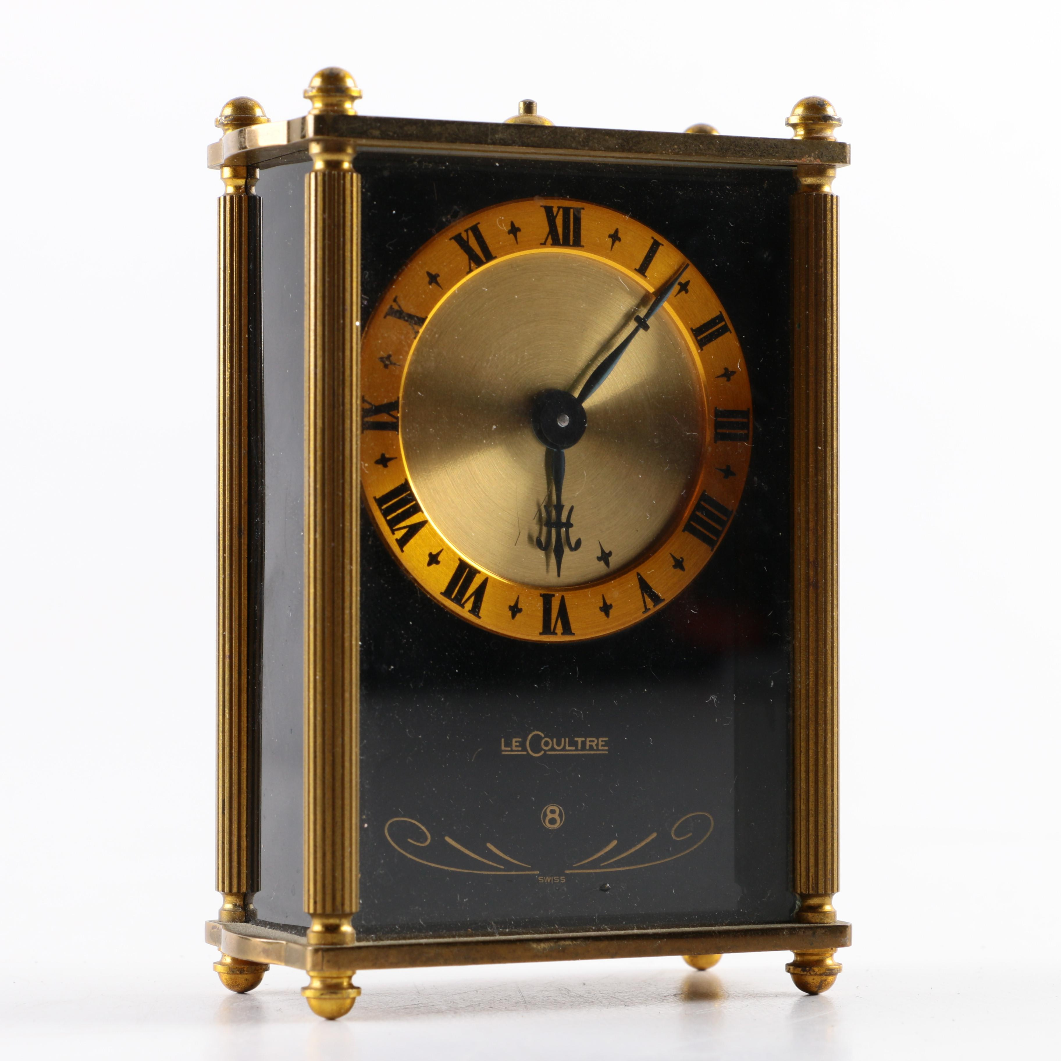 Antique swiss mantel clock