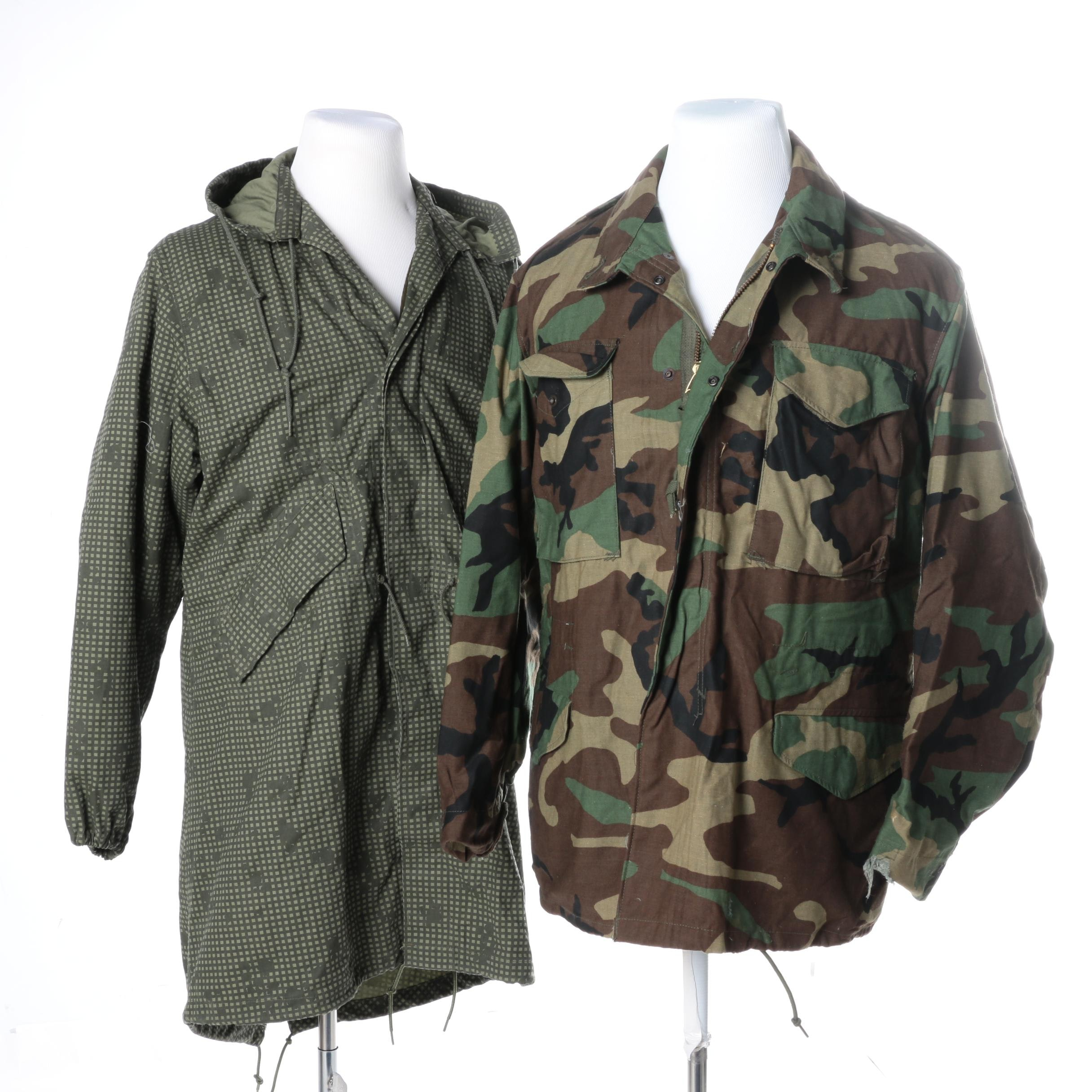Camouflage Print Tactical Jackets