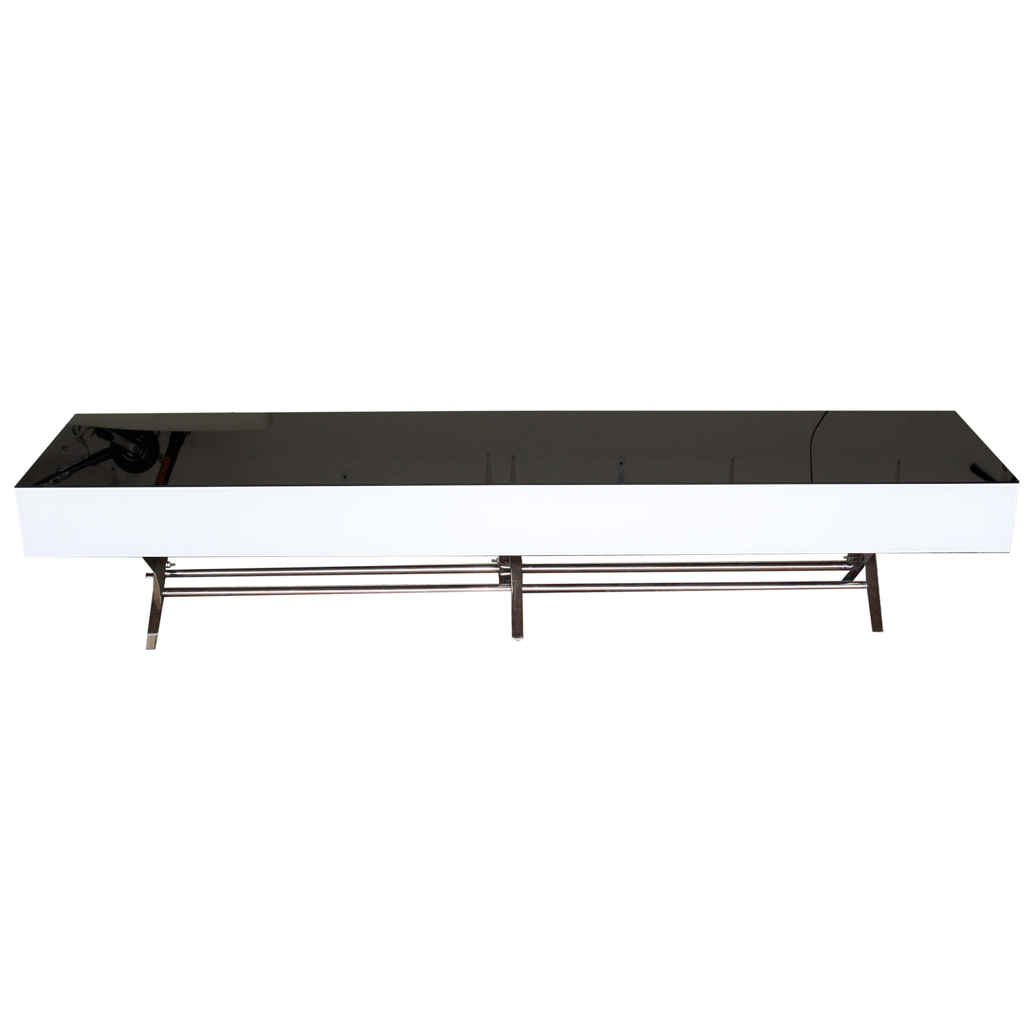 Modernist Rectangular Coffee Table with Storage