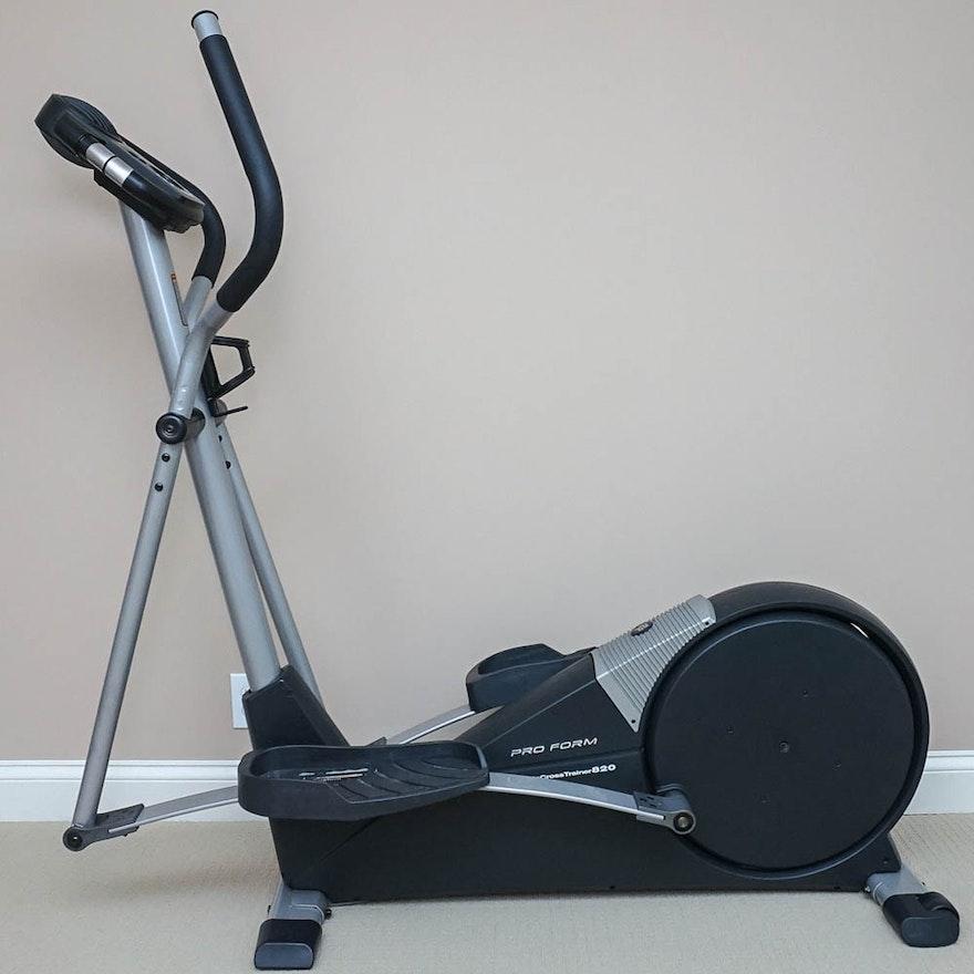 Proform Cardio Crosstrainer 820 Elliptical