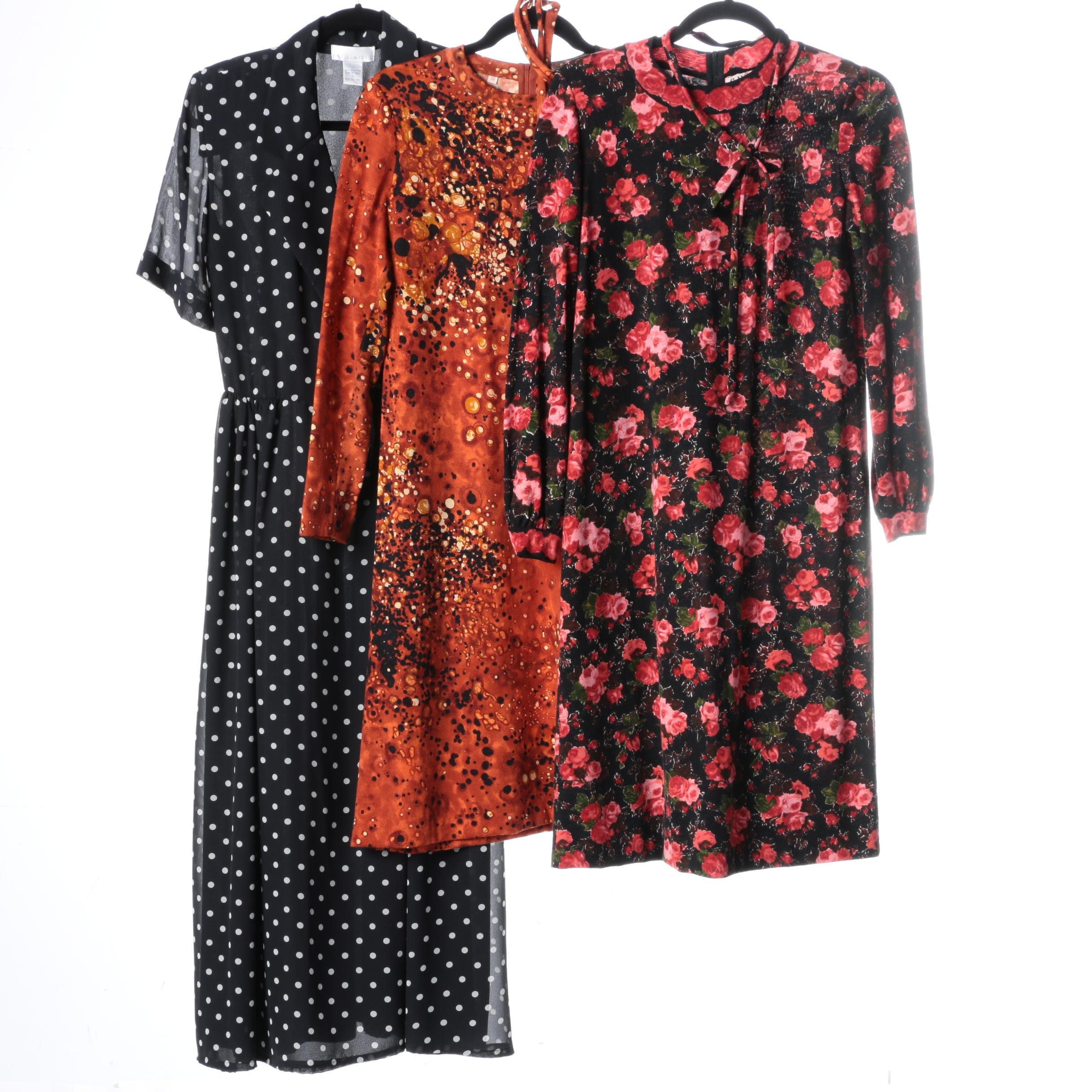 Women's Printed Dresses Including Goldworm and The Limited