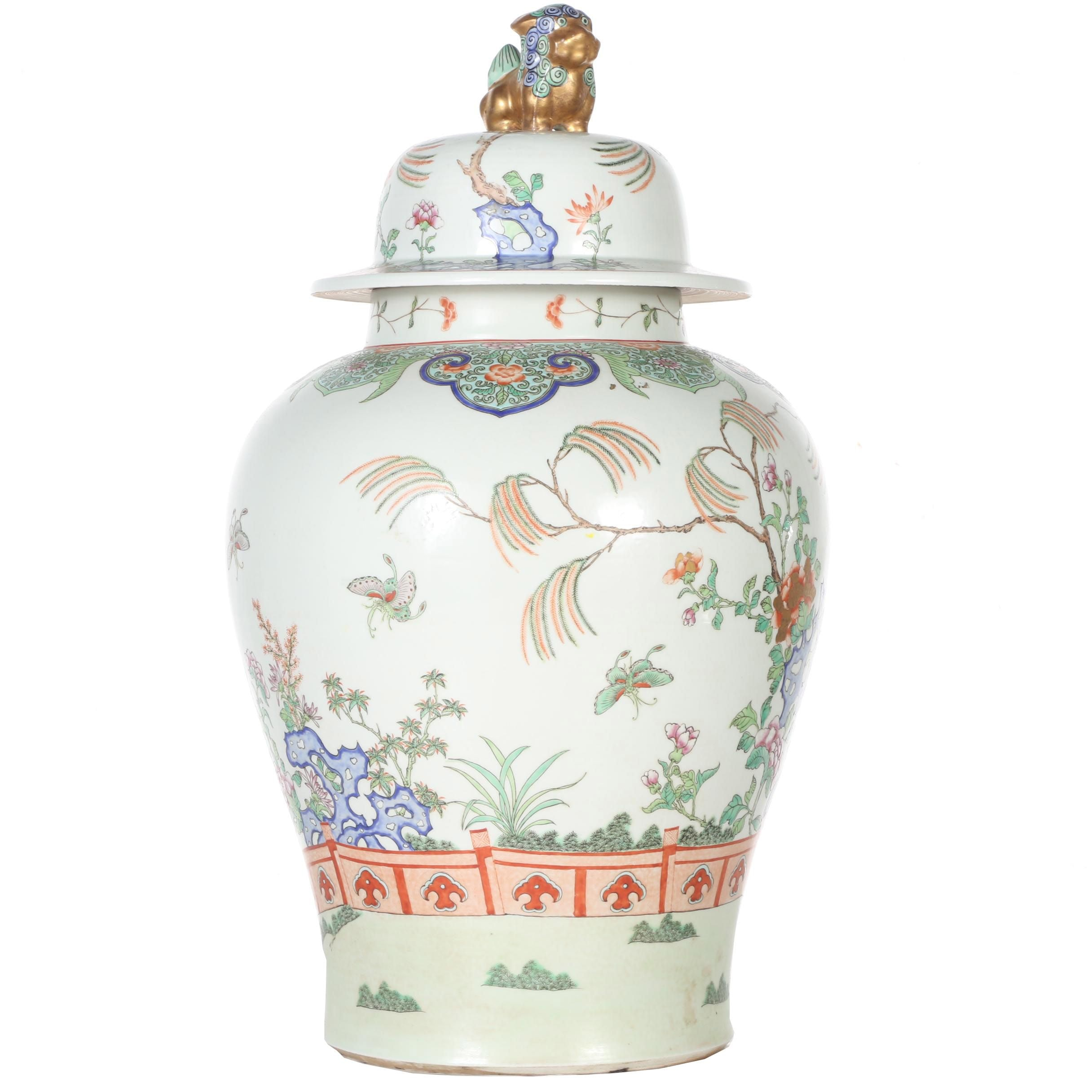 Replica Chinese Vase from the Carter Library