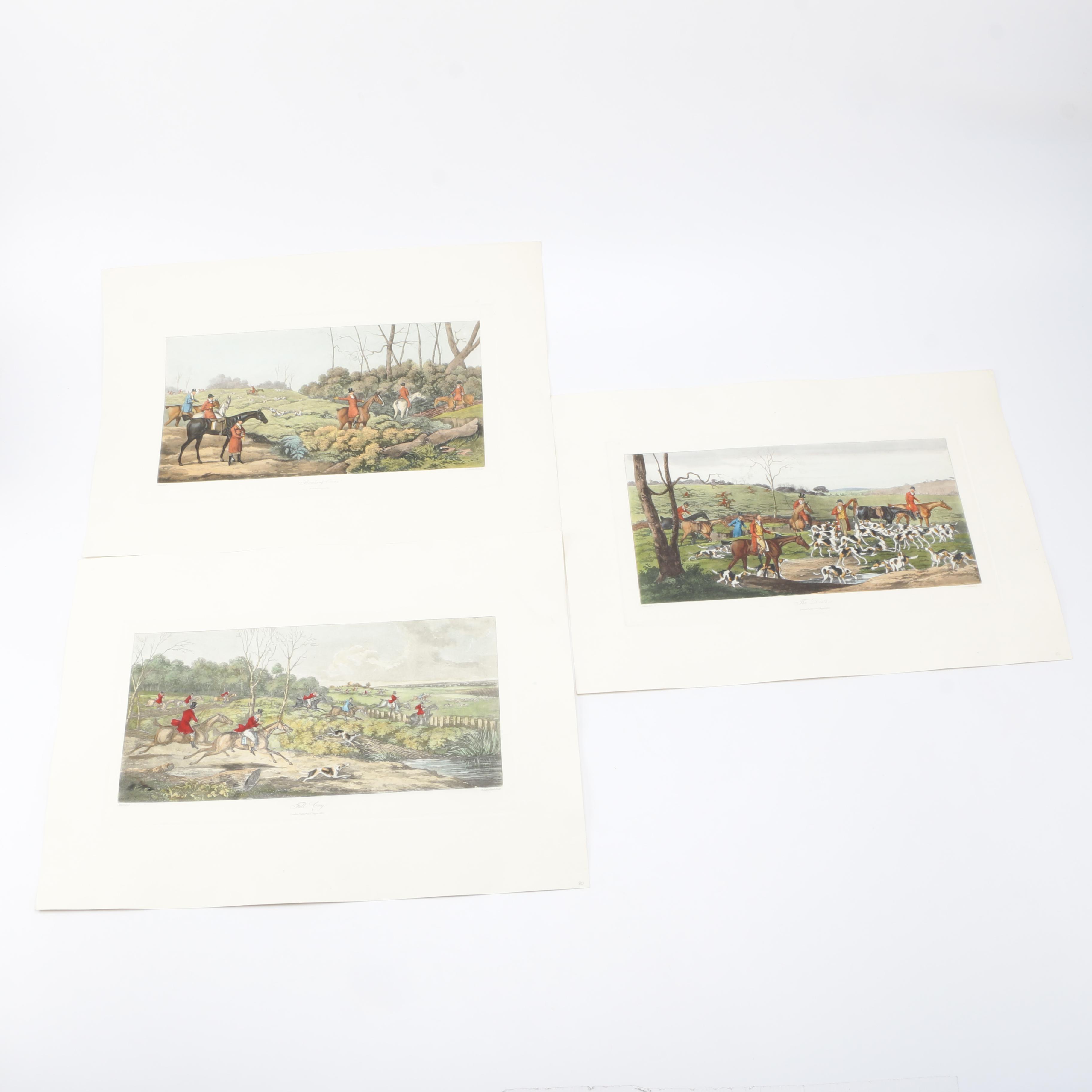 T. Sutherland Engraving After Henry Alken Works