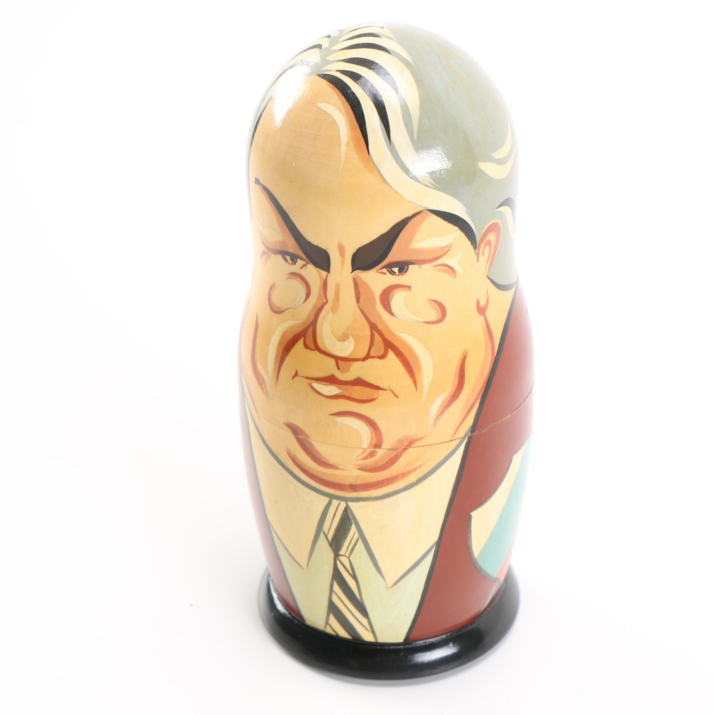 Soviet Leaders Nesting Dolls