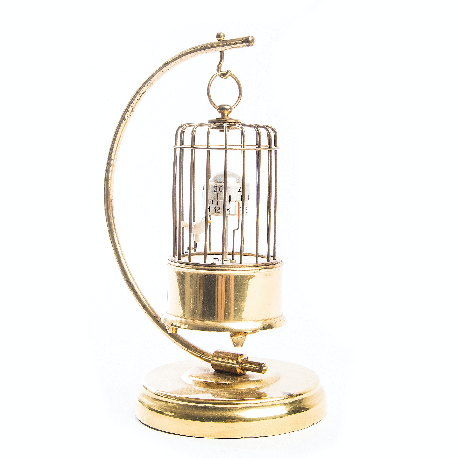 Kaiser Germany Automaton Bird Alarm Clock
