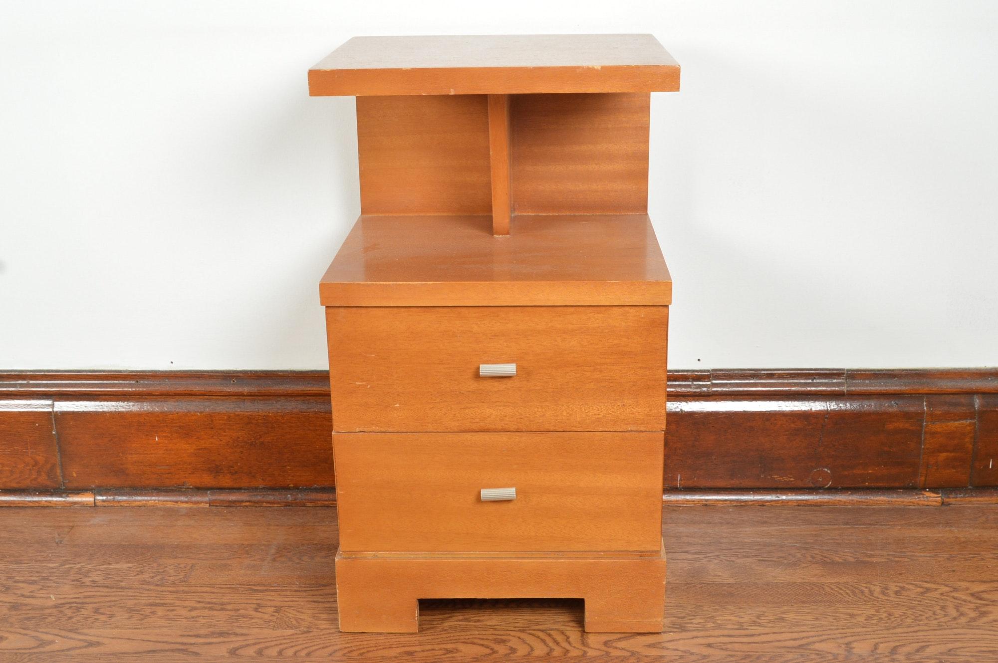 Mid Century Modern Nightstand By Joern's Furniture Co.