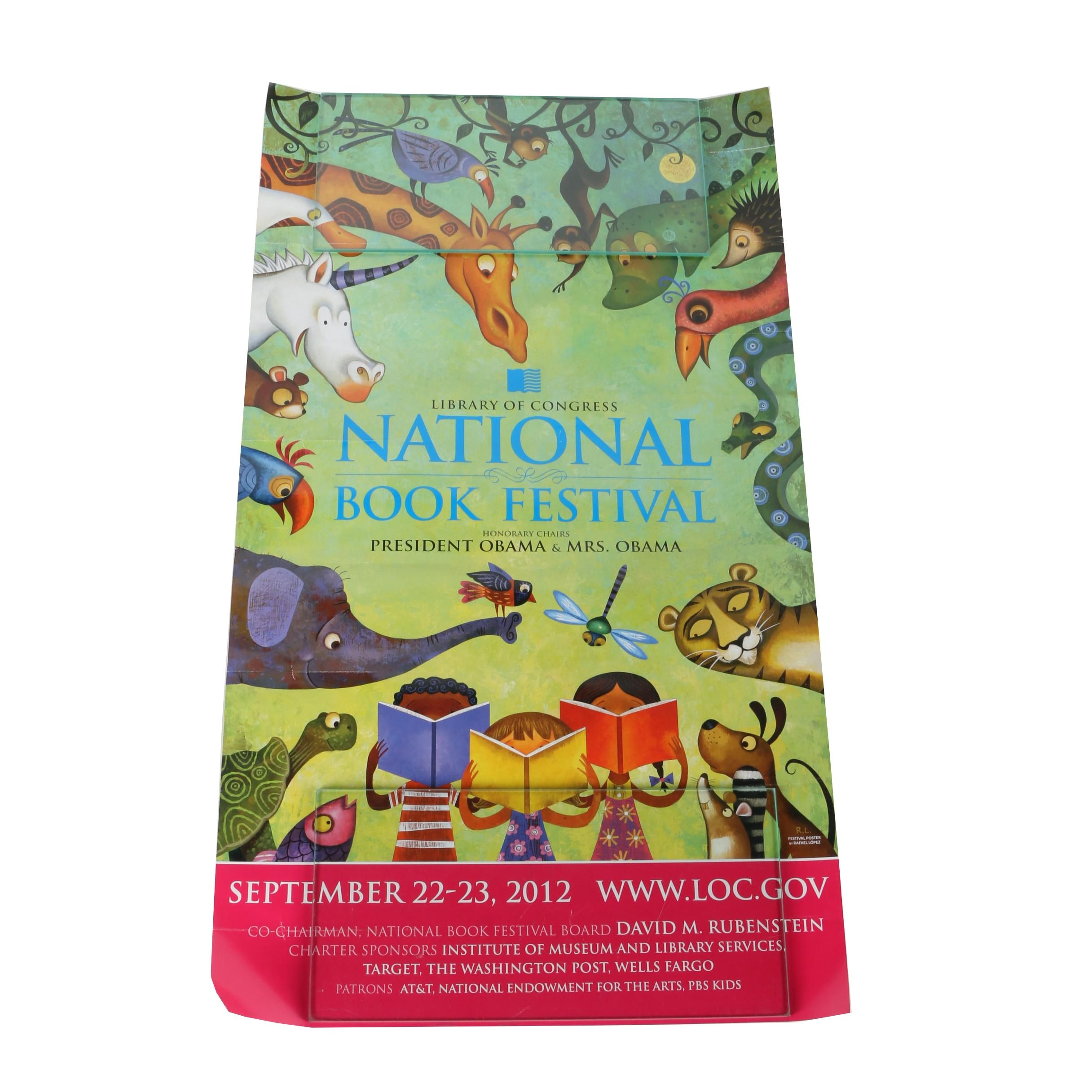 2012 National Book Festival Poster